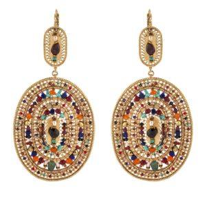 Satellite Paris - Persane Earrings PE195DO