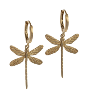 By Lauren Amsterdam - Hi Dragonfly Hoops Gold