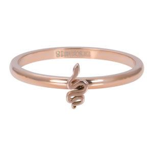 Ixxxi - Symbol Snake Rosegold R03505