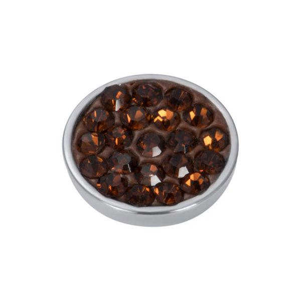 Ixxxi - Top Part Smoked Topaz Stone R05057