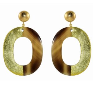 Miccys - Gold Leaf Ovals