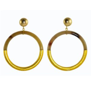 Miccys - Golden Horn Hoops