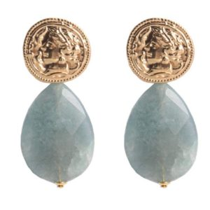 Miccys - Light Blue Gem Stone Drops
