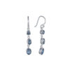 Coby van den Bor - Earrings Silver Aquamarine