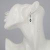 Coby van den Bor - Earrings Silver London Blue Topaz model