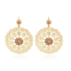 Gas Bijoux - Flocon Earrings Gold