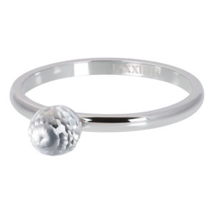 Ixxxi - Crystal Glass Ball Silver R04207