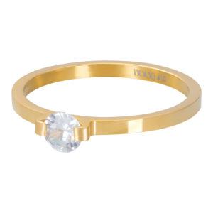 Ixxxi - Mini Glamour Stone Gold R04208