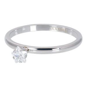 Ixxxi - Star Crystal Stone Silver R04209