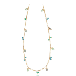 Gas Bijoux - Tangerine Necklace Green