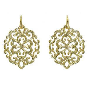 Miccy's - Ahlan Gold Petite Earrings