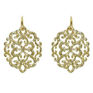 Miccy's - Ahlan Gold Petite Earrings