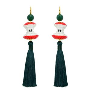 Miccy's - An Apple A Day Earrings