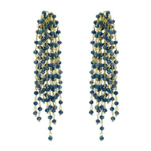 Miccy's - Edessa Teal Earrings
