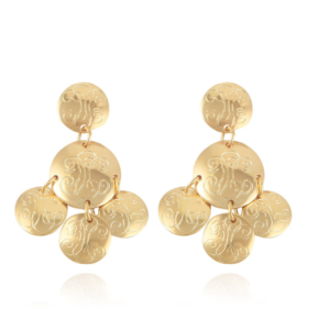 Gas Bijoux - Sequin Diva Gold Earrings