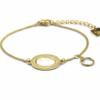 Zag Bijoux - Gold Bracelet Mother of Pearl Oval Zag Bijoux - Gold Bracelet Mother of Pearl Oval 2