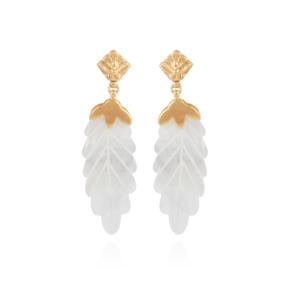 Gas Bijoux - Feuille Earrings Small