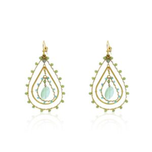 Gas Bijoux - Orphee Earrings Light Green