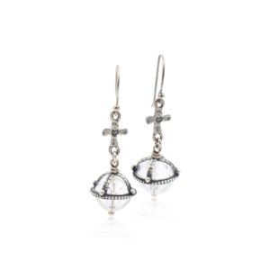 Gem Kingdom - Earrings Crystal E19A16a