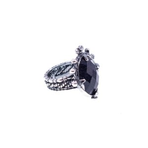 Gem Kingdom - Ring Blue Gold Stone 19C04