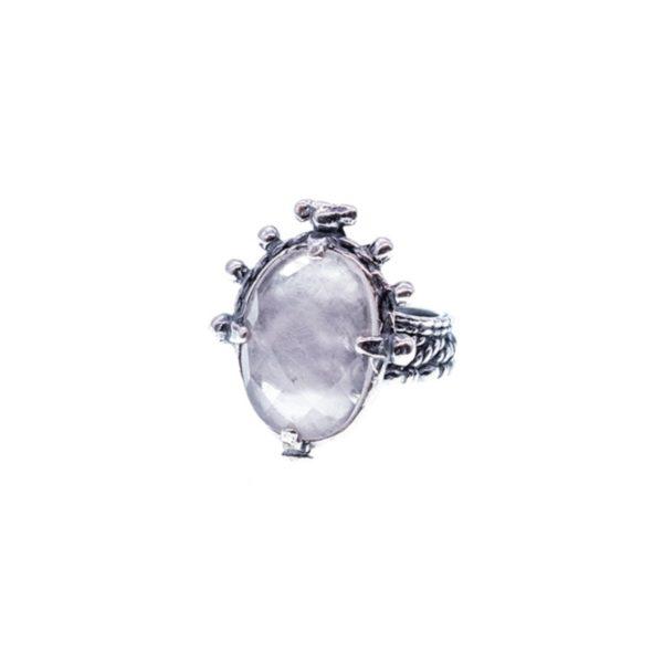 Gem Kingdom - Ring Rosequartz 19D14