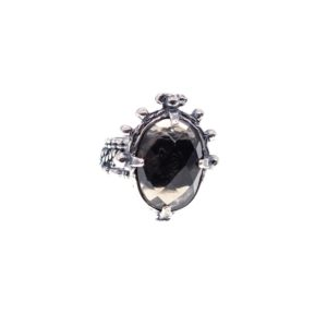 Gem Kingdom Ring Smokey Topaz 19D14
