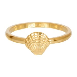 Ixxxi - Symbol Sea Shell Gold R03508-01