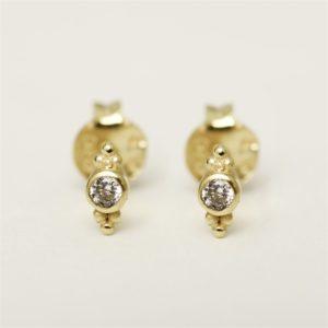Muja Juma - Earrings Gold 1284GB1
