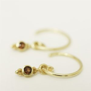Muja Juma - Earrings Gold 1291GB8