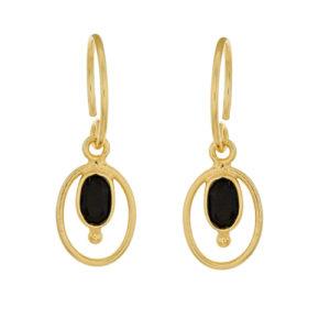Muja Juma - Earrings Gold 1357-GB-12