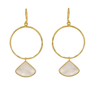 Muja Juma - Earrings Gold 1375-GB-1