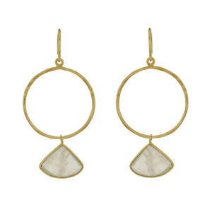 Muja Juma - Earrings Gold 1375-GB-5