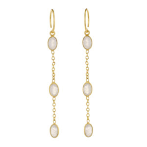 Muja Juma - Earrings Gold 1378-GB-1