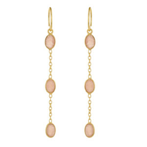 Muja Juma - Earrings Gold 1378-GB-4