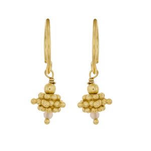Muja Juma - Earrings Gold 1384-GB-4