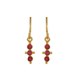 Muja Juma - Earrings Gold 1423-GB-14