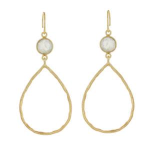Muja Juma - Earrings Gold 627-GB-5