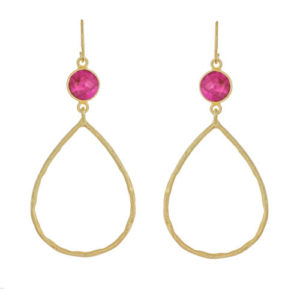 Muja Juma - Earrings Gold 627-GB-8