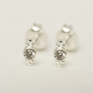 Muja Juma - Earrings Silver 1284SB1