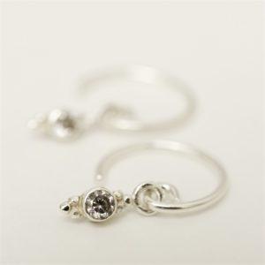 Muja Juma - Earrings Silver 1291SB1