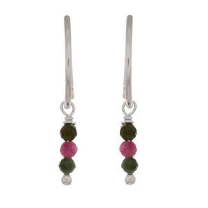 Muja Juma - Earrings Silver 1348-SB-11
