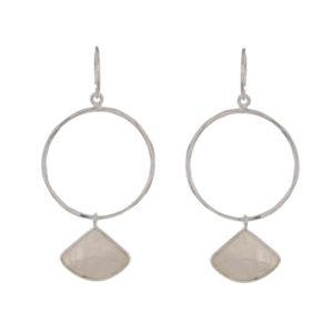 Muja Juma - Earrings Silver 1375-SB-1