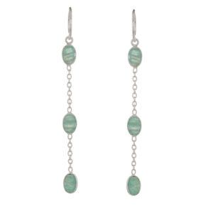 Muja Juma - Earrings Silver 1378-SB-5