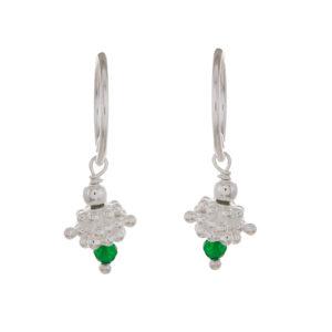 Muja Juma - Earrings Silver 1384-SB-15