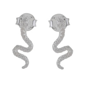 Muja Juma - Earrings Silver 1409-SB