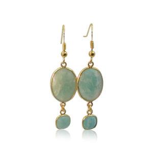 Callysta's Findings - Earrings Amazonite