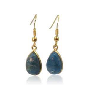 Callysta's Findings - Earrings Apatite Drops
