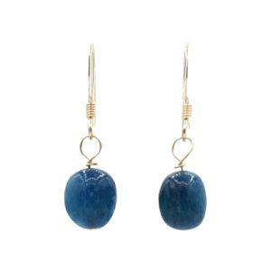 Callysta's Findings - Earrings GF Apatite Stones