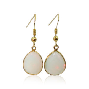 Callysta's Findings - Earrings Opalite Drops