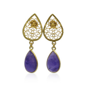 Callysta's Findings - Earrings Oriental Amethist